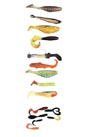 рыболовные снасти твистер и джиг