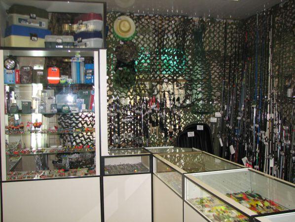 магазин для рыбалки на римской