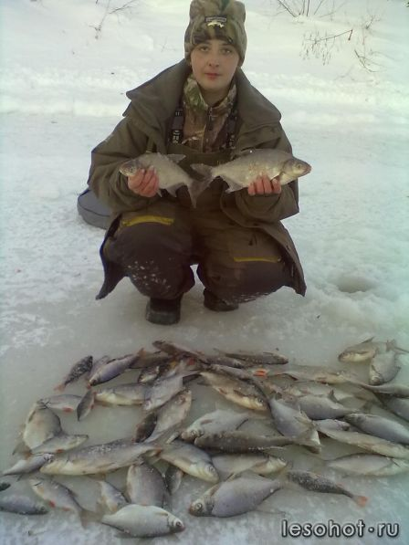 отчет по рыбалке река касть