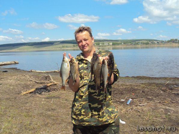 рыбалка на ангаре осенью