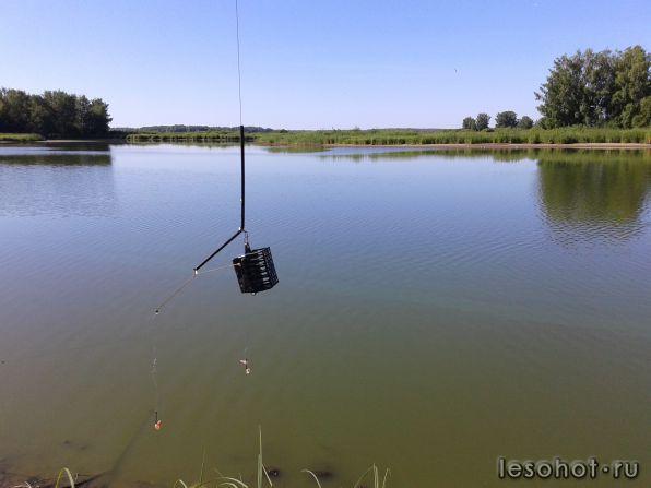 что такое ловля рыбы на коромысло