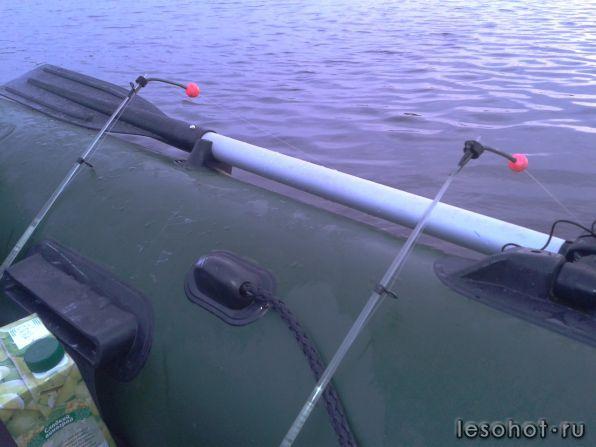 рыбалка на кивок с лодки видео на