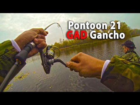 GAD Gancho+Greedy Guts=Pontoon 21...ТурИстории