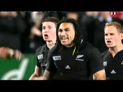 All Blacks Haka vs Japan Rugby Word Cup 2011
