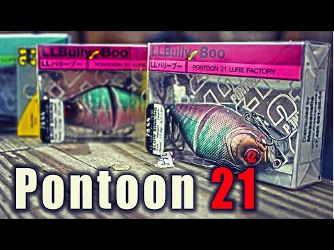 Воблер Pontoon 21 LL Bully Boo...ТурИстории
