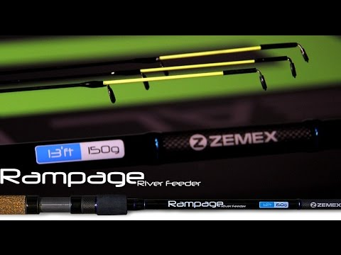 фидер zemex rampage river 13ft 150g